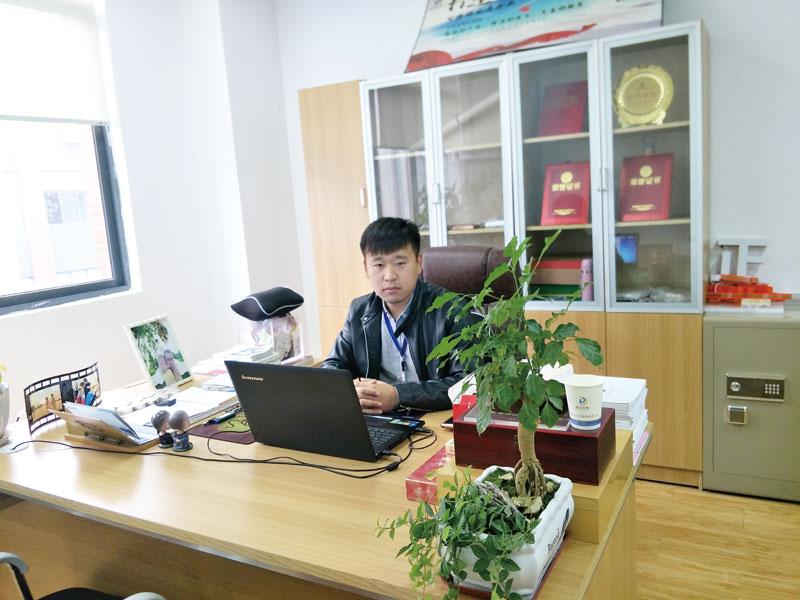 合肥兹达光电科技有限公司总经理徐越东