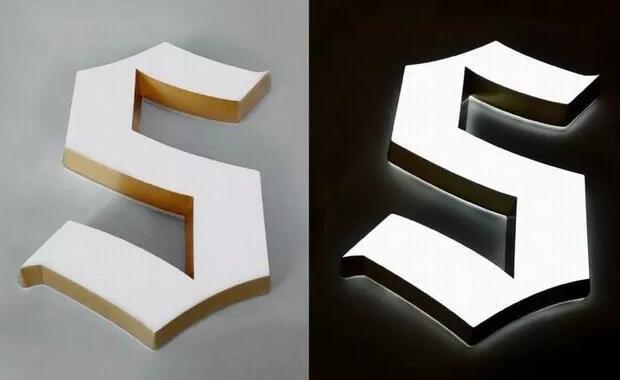 LED平面迷你发光字